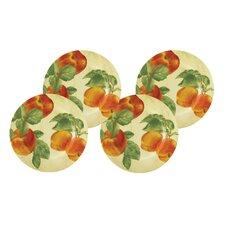 "Georgia's Bounty 9.25"" Salad Plates (Set of 4)"