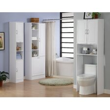 Storage and Organization Over the Toilet Cabinet