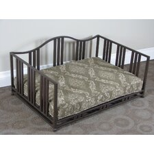 Metal Swirl Dog Daybed