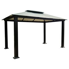 Monica Four Season 10 Ft. W x 13 Ft. D Aluminum Gazebo