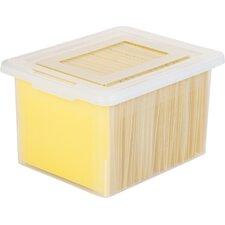Letter Legal Size File Box Storage (Set of 4)