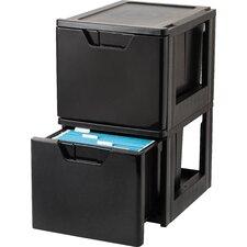 Premier Stacking File Storage Drawer (Set of 2)