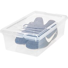 6 Quart Shoe Storage Box (Set of 10)