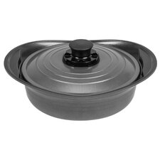 Smart Steam Shallow Pan with Lid