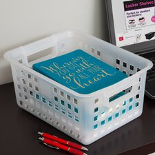 Small Plastic Storage Basket (Set of 8)