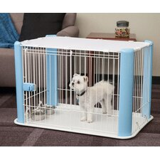 Dog Play Pen with Mesh Roof