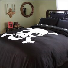 Flagship Skulls Duvet Cover