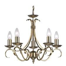 5 Light Grande Candle Chandelier
