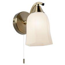 Alana 1 Light Semi-Flush Wall Light