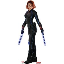 Avengers Age of Ultron Black Widow Cardboard Standup