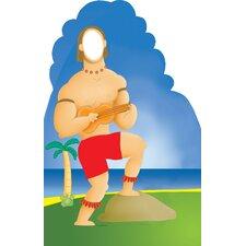 Life-Size Stand-Ins Hawaiian Guy Cardboard Stand-Up