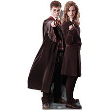 Harry Potter - Harry and Hermione Cardboard Stand-Up