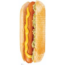 Hot Dog Cardboard Stand-Up