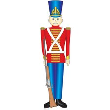Christmas Toy Soldier Cardboard Stand-Up