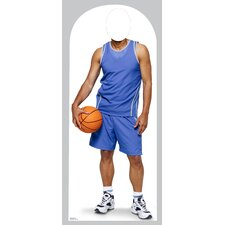 Life-Size Stand-Ins Basketball Cardboard Stand-Up