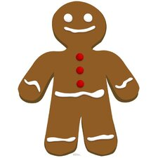 Christmas Gingerbread Man Cardboard Stand-Up
