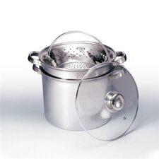 4 Quart 4 Piece Stainless Steel Multi Cooker Set