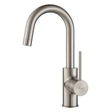 Mateo Pull Out Kitchen Faucet with Bar/Prep Faucet with Soap Dispenser