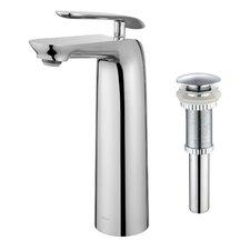 Seda™ Single Lever Vessel Bathroom Faucet with Pop-Up Drain