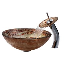 Copper Ares Glass Vessel Sink