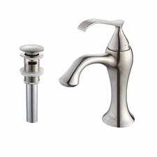Ventus Single Lever Basin Bathroom Faucet & Pop Up Drain with Overflow