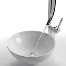Ceramic Round Vessel Bathroom Sink