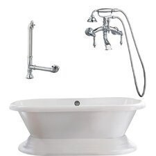 Wescott Dual Soaking Bathtub