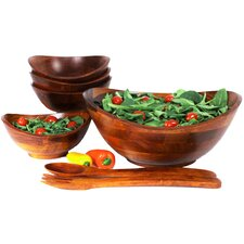 7 Piece Salad Bowl Set