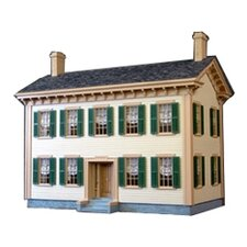 Historical Lincoln Springfield Home Dollhouse