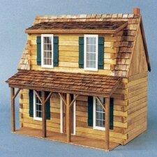 Log Holmes Cabin Dollhouse