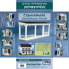 Quickbuild Kits Farmhouse Porch Dollhouse