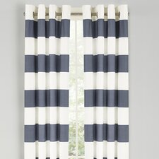 Nautica Cabana Stripe Drape Curtain Panel (Set of 2)