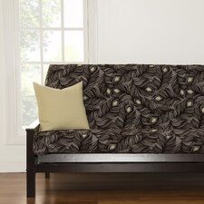 Plush Plumes Full Futon Slipcover