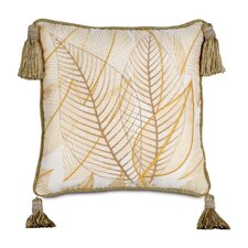 Antigua Hand-Painted Collier Sunshine Throw Pillow