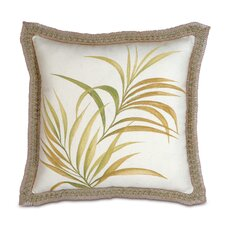 Antigua Hand-Painted Throw Pillow