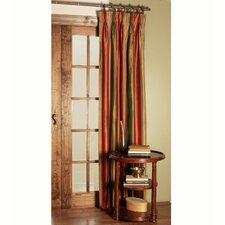 Memoir Harvest Three-Finger Pleated Single Curtain Panel