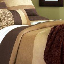 Mondrian Polyester Haberdash Button-Tufted Comforter