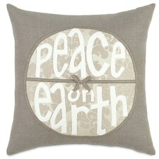 Dreaming of a White Christmas Peace on Earth Throw Pillow