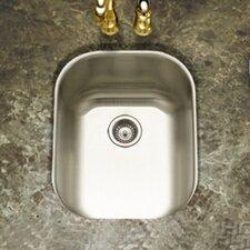 "Club 17.19"" x 13.63"" Undermount Medium Bar Sink"