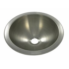 """10"""" x 10"""" Round Bar Sink"""