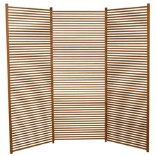 """72"""" x 82"""" Lily 3 Panel Room Divider"""