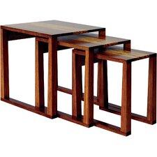 Magnolia 3 Piece Bamboo Nesting Tables