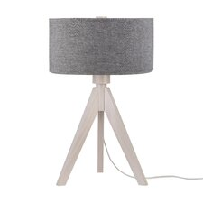 """Woody 28"""" H Table Lamp with Drum Shade"""