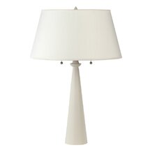 """Nikki Small 24"""" H Table Lamp with Empire Shade"""