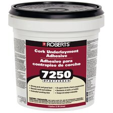 Roberts 1-Gal. Pail Of Pro Grade Cork Underlayment Adhesive