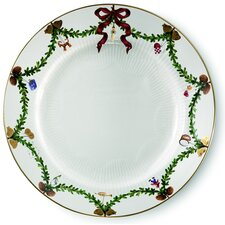 "Star Fluted 10.75"" Dinner Plate"