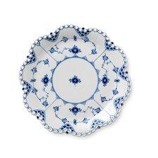 Blue Full Lace Round Dish