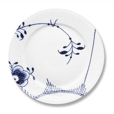 "Blue Fluted Mega 10.75"" Dinner Plate"