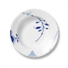 """Blue Fluted Mega 8.25"""" Soup Plate"""