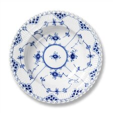 """Blue Fluted Full Lace 9"""" Accent Plate"""